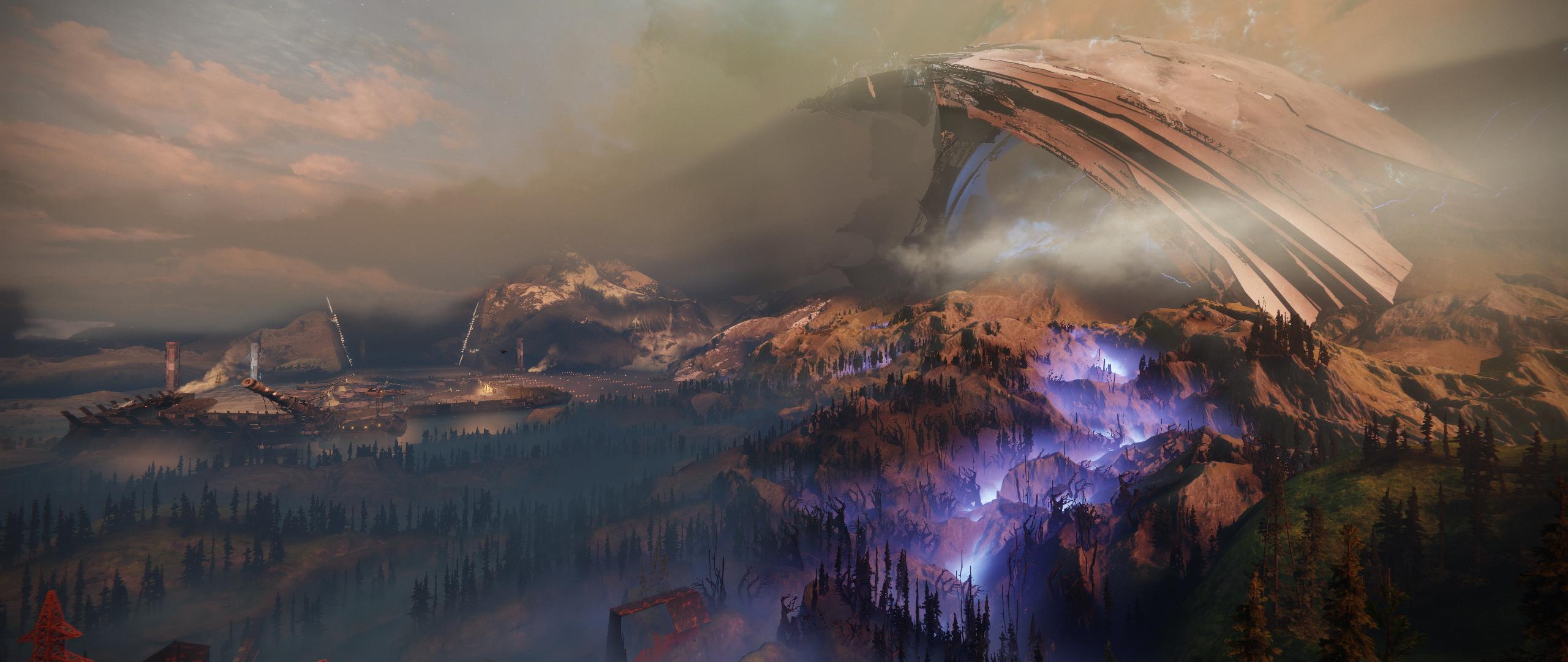 Destiny 2 Shard Of The Traveler Screenshot 2560x1080 Destiny Travel Hd Wallpaper