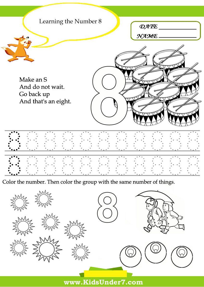 Math Worksheets Practice Counting Free Printable Kindergarten Math