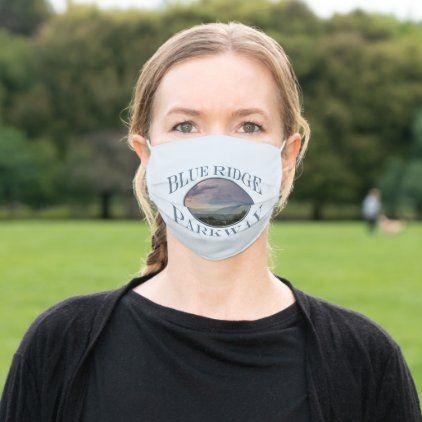 Sunset Storm Blue Ridge Parkway Souvenir Cloth Face Mask | Zazzle.com