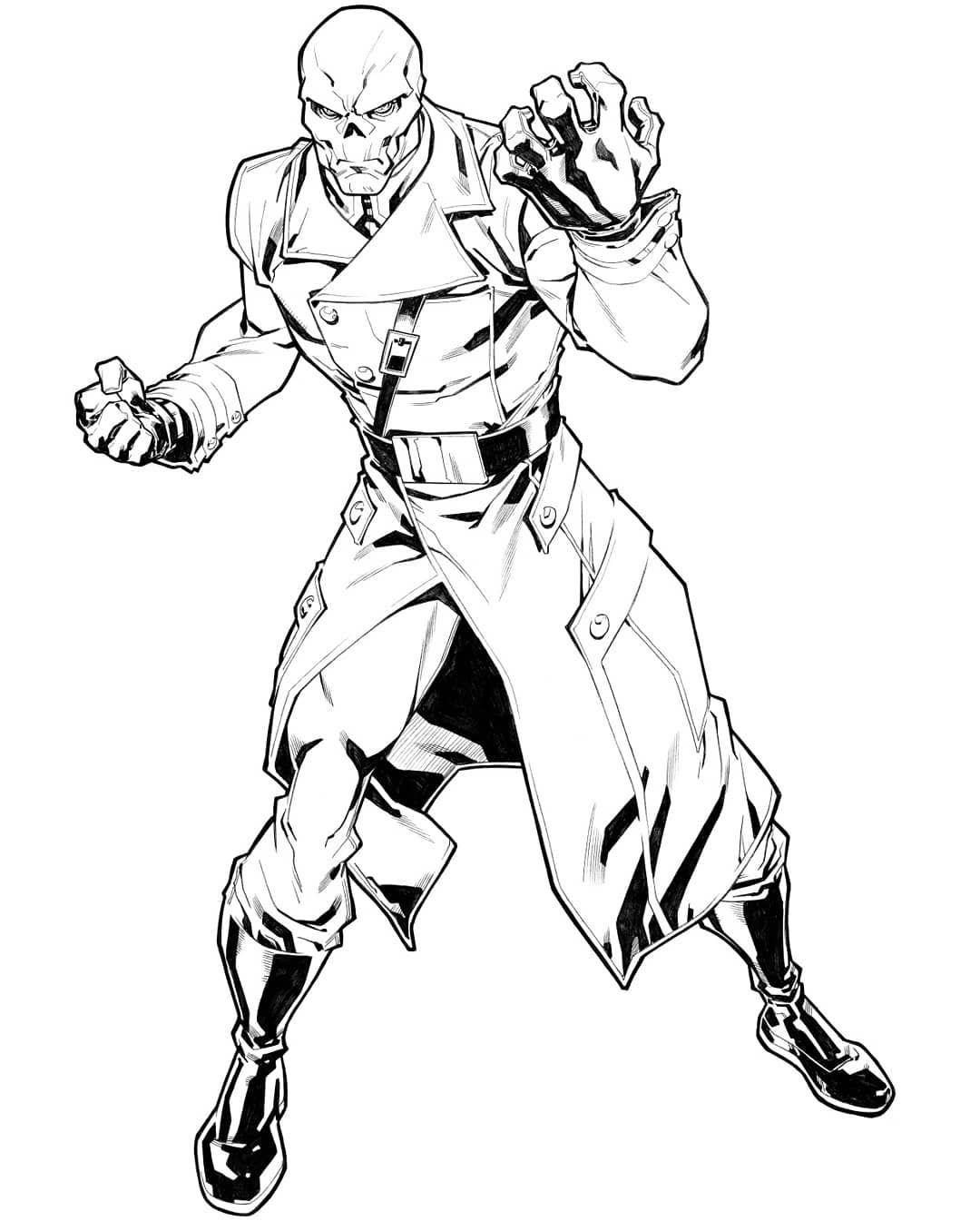 Red Skull Marvel Style Guide Let S Go Classic Villain Redskull Thor Antman Elektra Hulk Ironman Falco Red Skull Marvel Marvel Drawings Skulls Drawing
