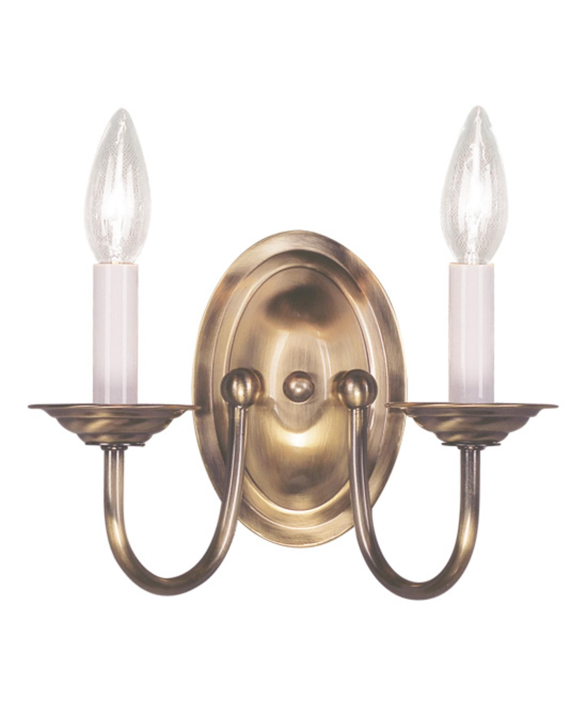 Home Basics 10 Inch Wall Sconce By Livex Lighting Decorating Wall Sconces Wall Sconce Lighting Candle Wall Sconces