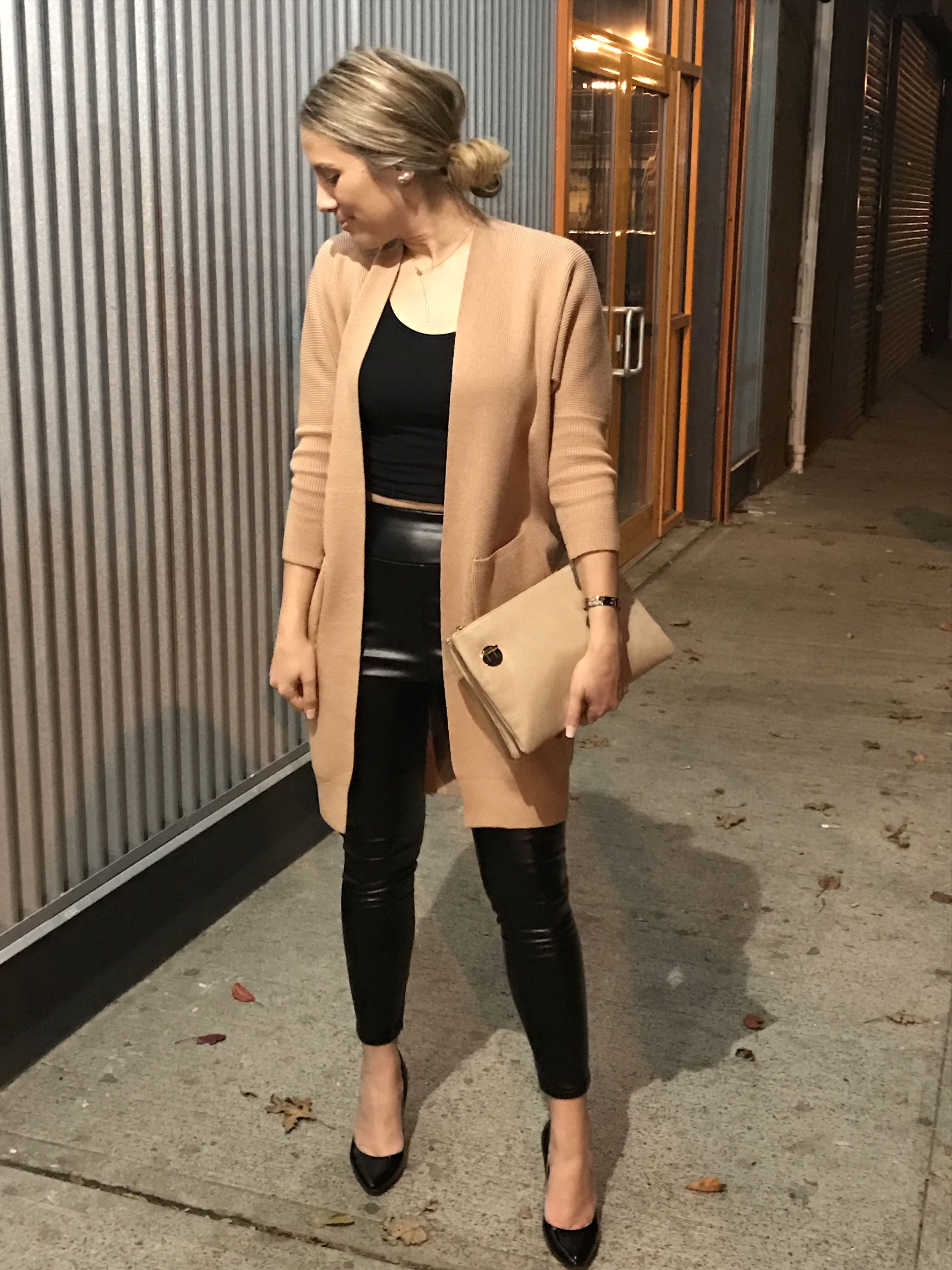Sweaters+Leather #StreetStyle | aposhparalegal | Bloglovin'