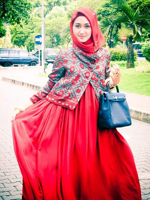 Model Baju Batik Kantor Dian Pelangi My Share Hijab Fashion