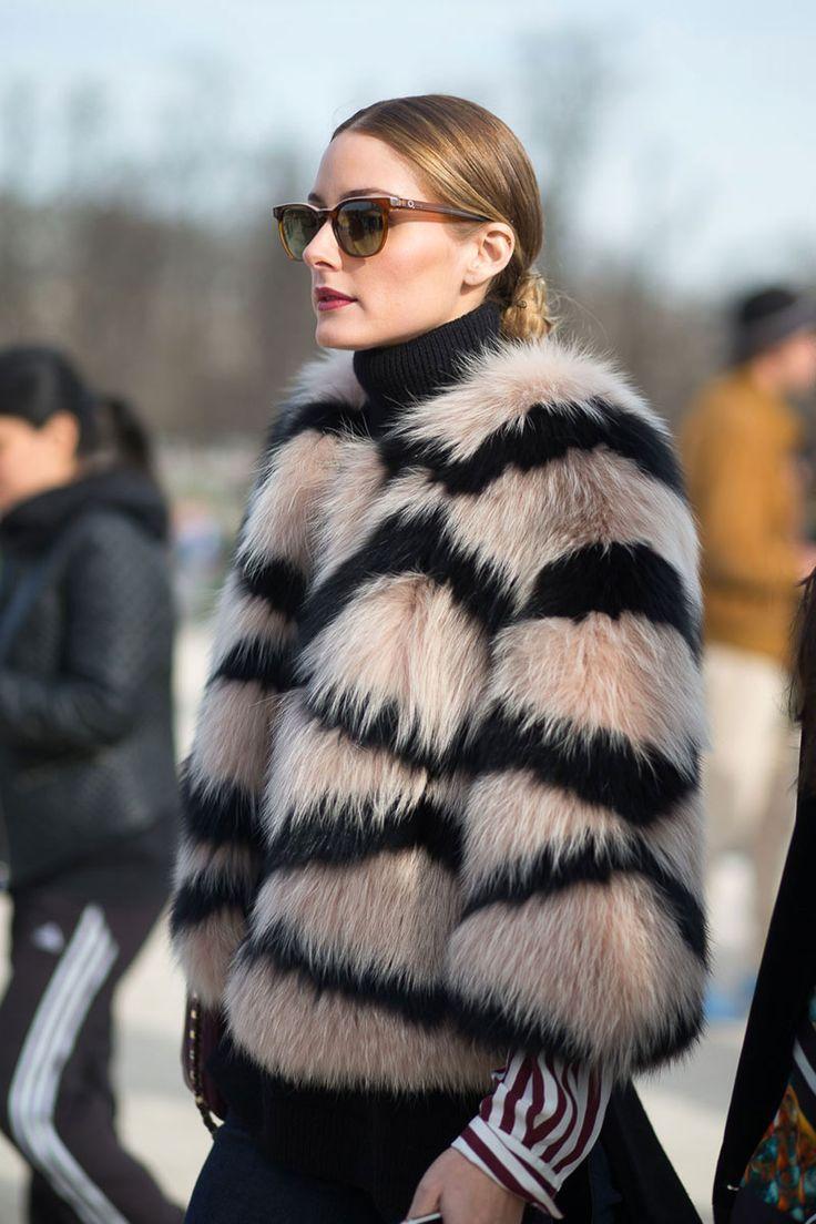 Olivia Palermo best street style at paris fashion week: