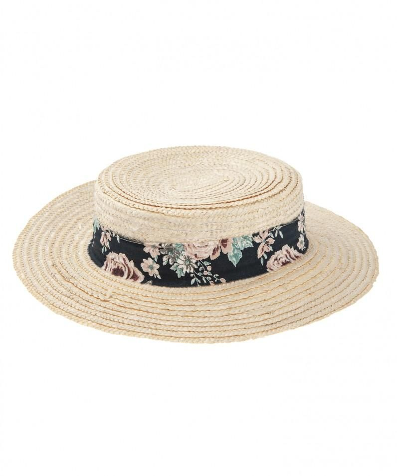 f87950193 Tocoto Vintage Straw Hat in 2019 | Products | Hats, Flower hats ...