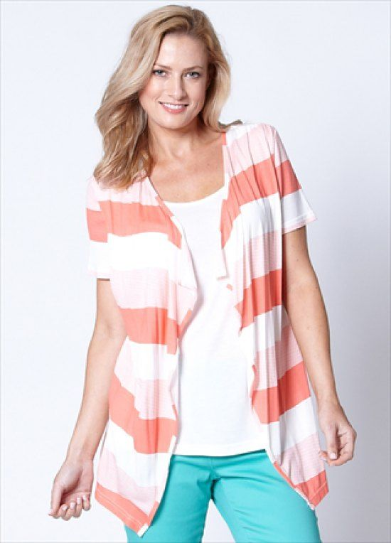 #fashion #australia #melbourne #fashionstore -   Short sleeve block stripe 2 for 1 top. Available in two colours. Fabric: Viscose. Model wears a size 10.    We deliver anywhere in Australia, including Redcliffe City, Werribee, Homebush, Merrylands, L