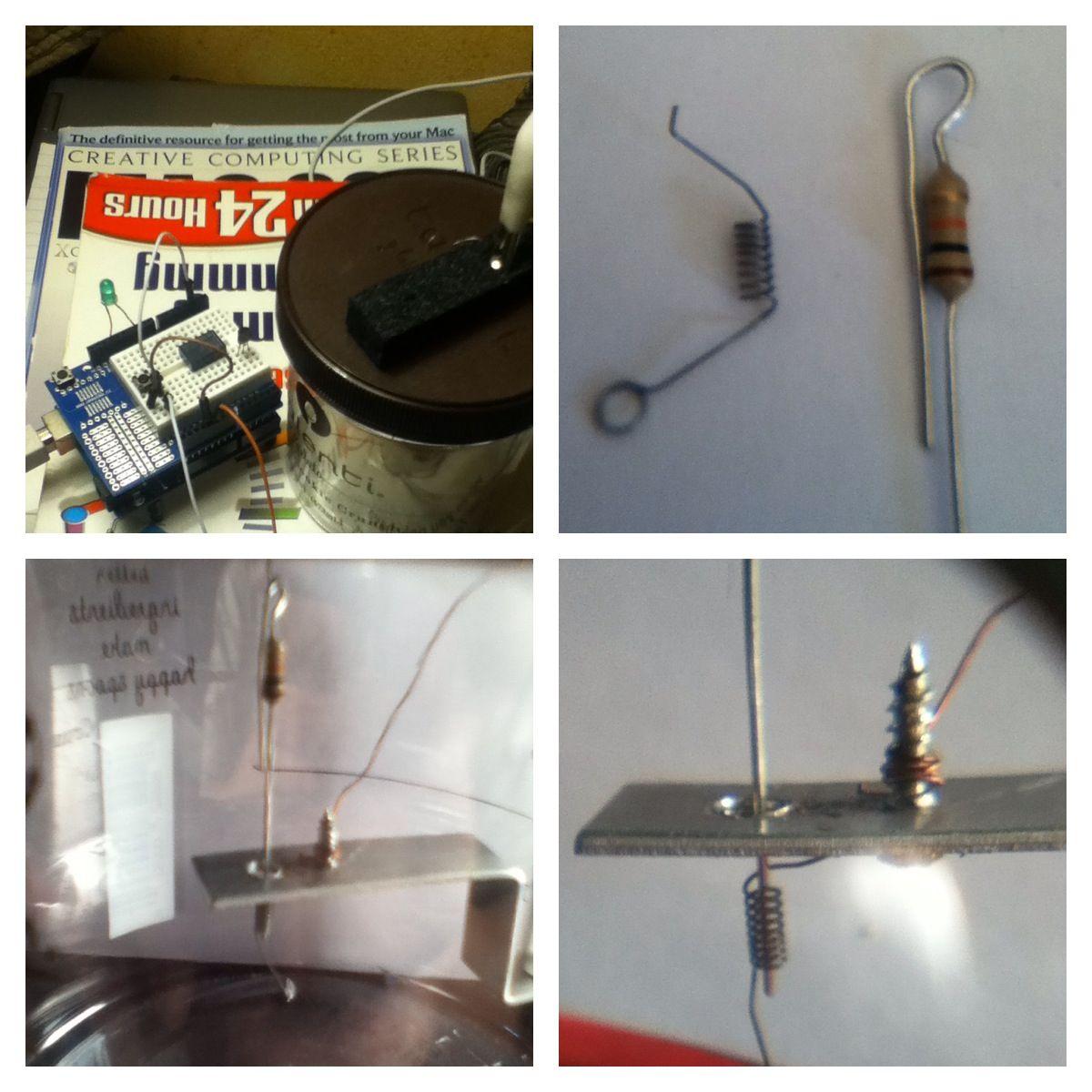 Seismic (((Vibration))) sensor DIY . Arduino UNO, 10k resistor and ...