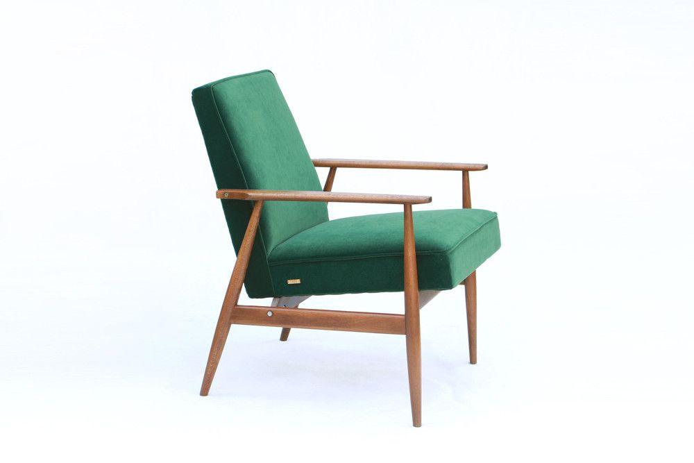 Fotel Lisek Typ 300 190 Hlis Lata 70 Lekka Furniture