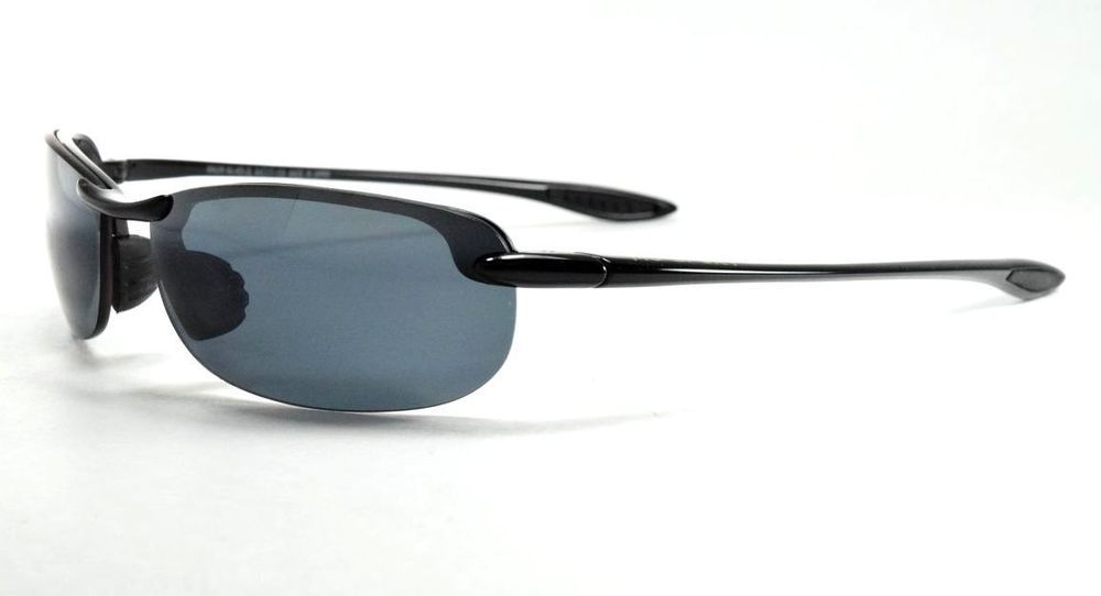 49f326b957d Maui Jim MAKAHA MJ-405-02 Gloss Black   Neutral Gray Polarized Sunglasses   fashion  clothing  shoes  accessories  unisexclothingshoesaccs   unisexaccessories ...
