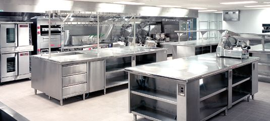 Exceptionnel Engaging Cafe Kitchen Layout Design Commercial Picture Of In ..