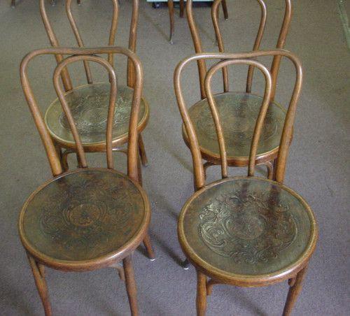 Antique Jacob And Josef Kohn Bow Top Bentwood Chairs Austria