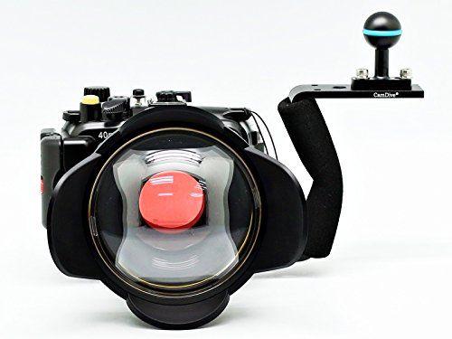 Camdive 40m 130ft Waterproof Underwater Camera Housing Diving Kit For Sony Dsc Rx100 Iv Underwater Underwater Camera Underwater Camera Housing Diving Camera