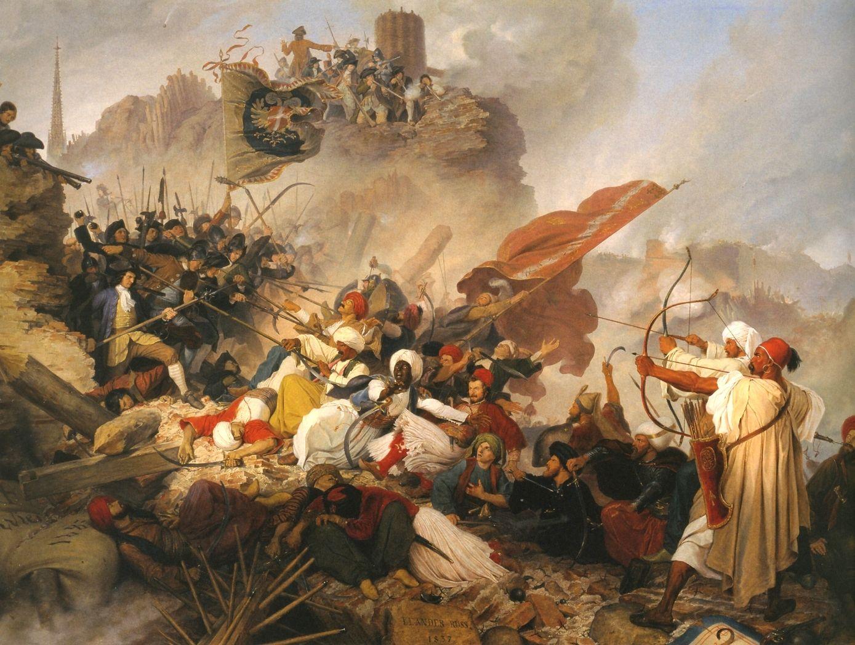 Habsburg Austrian Soldiers Defending Vienna During The Ottoman Siege