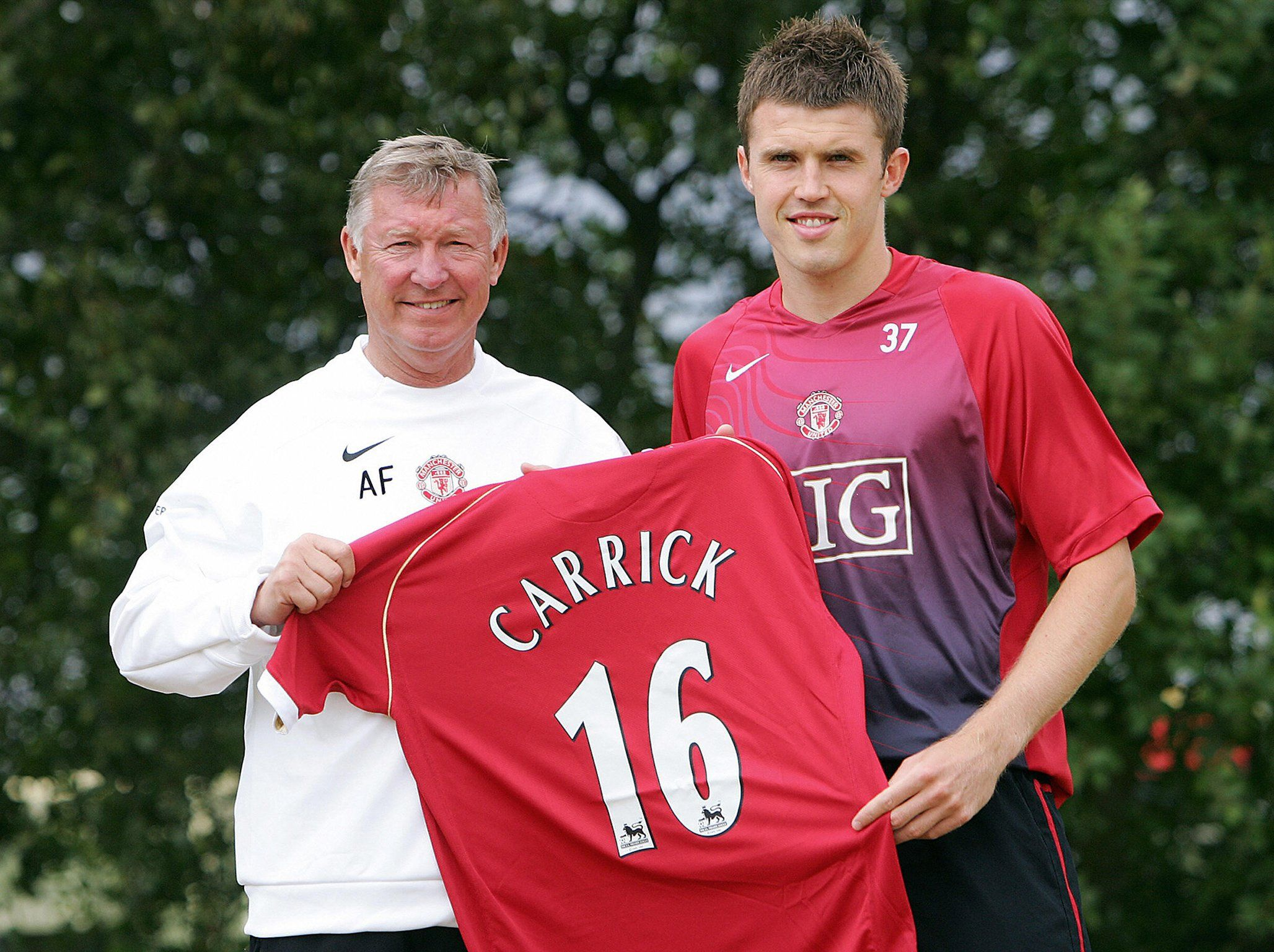 Michael Carrick Interview The Reluctant Great Whose Impact United Still Miss Michael Carrick Sir Alex Ferguson Manchester United