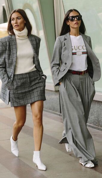 plaid suits are fall biggest trend
