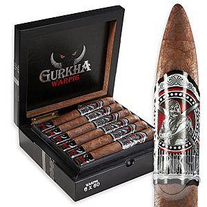 Gurkha Warpig - Cigars International (Robusto box)!