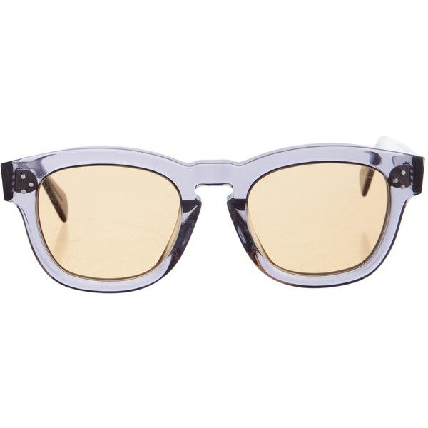 square frame sunglasses - Grey Celine alyC9mnY