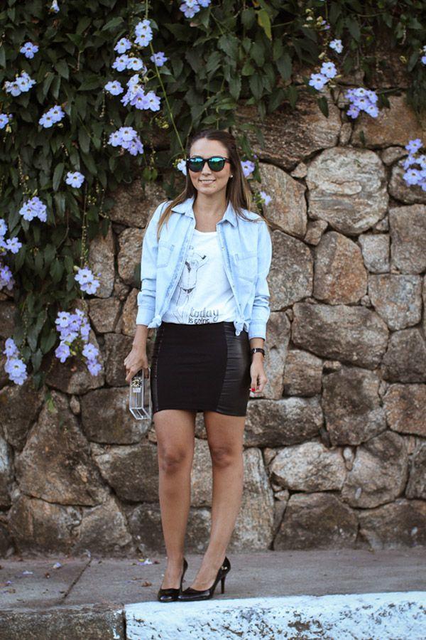 Black Skirt - Lala Noleto