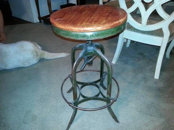 Dallas Craigslist Green Toledo Stool Vintage Stool Bar Stools Home Decor