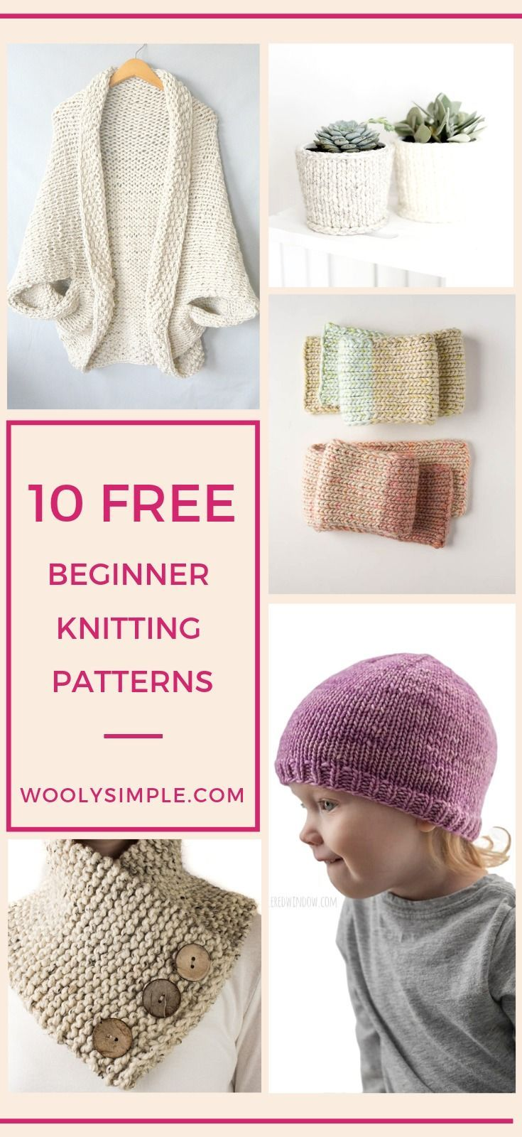 Photo of Free Knitting Patterns for Absolute Beginner: Round Up of the Easiest Patterns