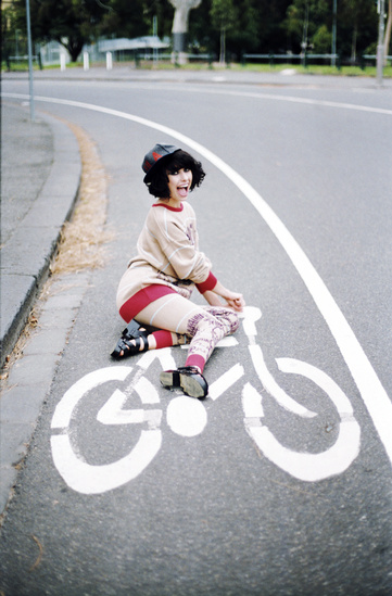 This image is further proof that this goofball and I should be friends... www.redrockbicycle.com