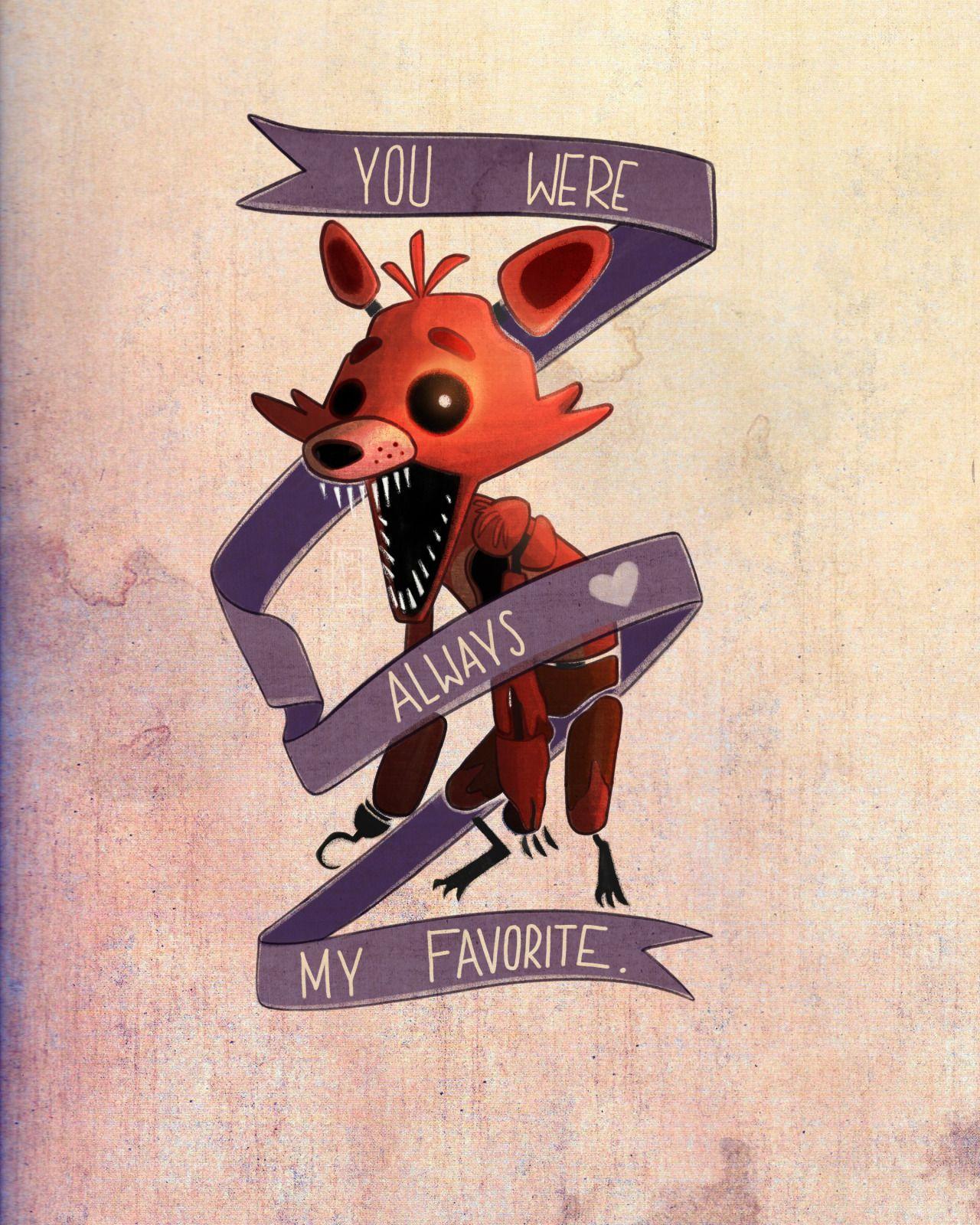 my favorite friend 4 ever ♥ Foxy the Pirate ♥