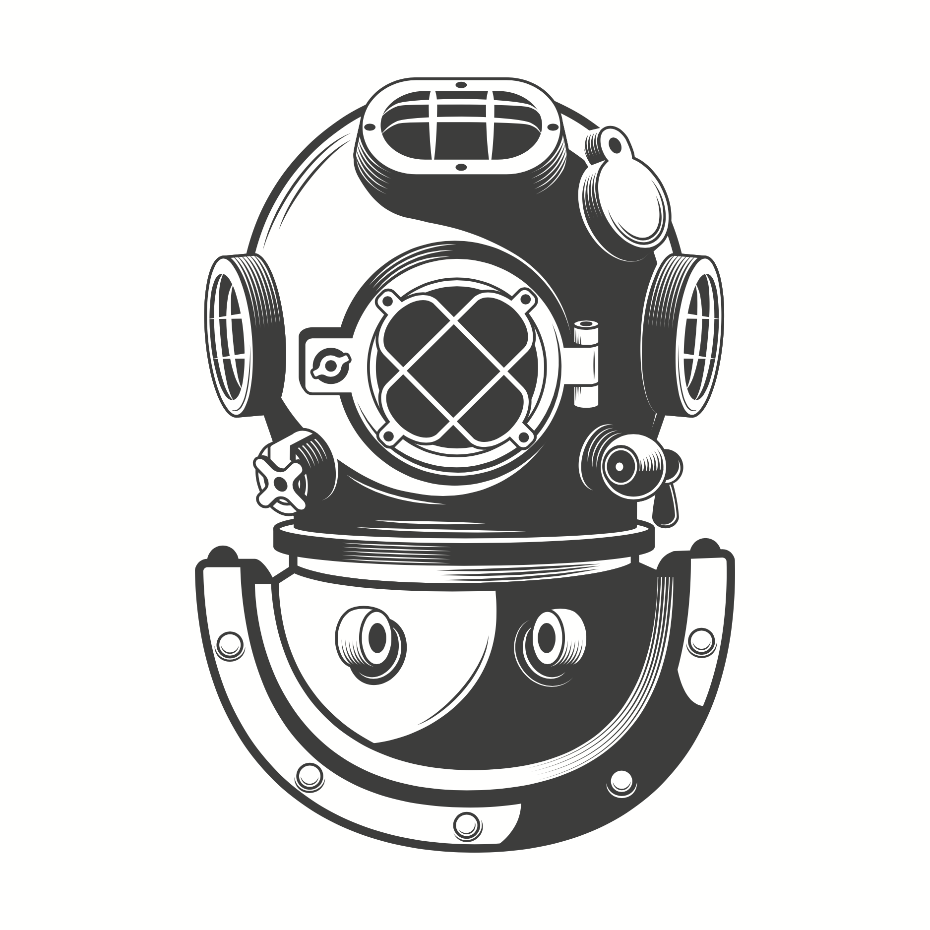 Pin By D B Patterson On Epiphany Man Diving Helmet Scuba Tattoo Helmet Drawing