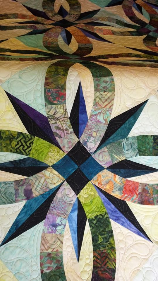 Bali Wedding Star, Complete Set Star quilt patterns