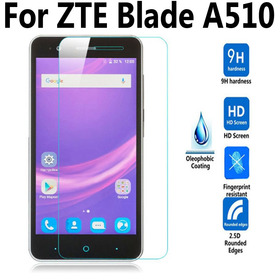 >> Click to Buy << For ZTE Blade A510 / A510T / BA510 Tempered Glass Film For ZTE Blade A 510 Phone Screen Protector Cover Protective Film Case #Affiliate