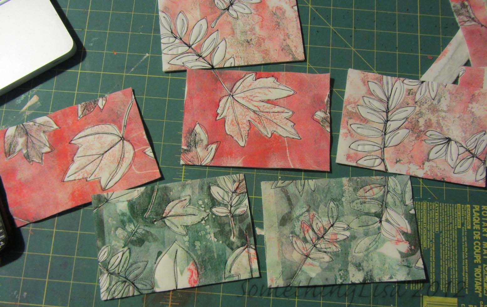 Something about nothing gelli plate tutorial with leaves already something about nothing gelli plate tutorial with leaves already pinned with diff pic baditri Gallery