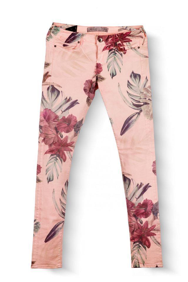 Guess - dámské kalhoty  bca636f06e