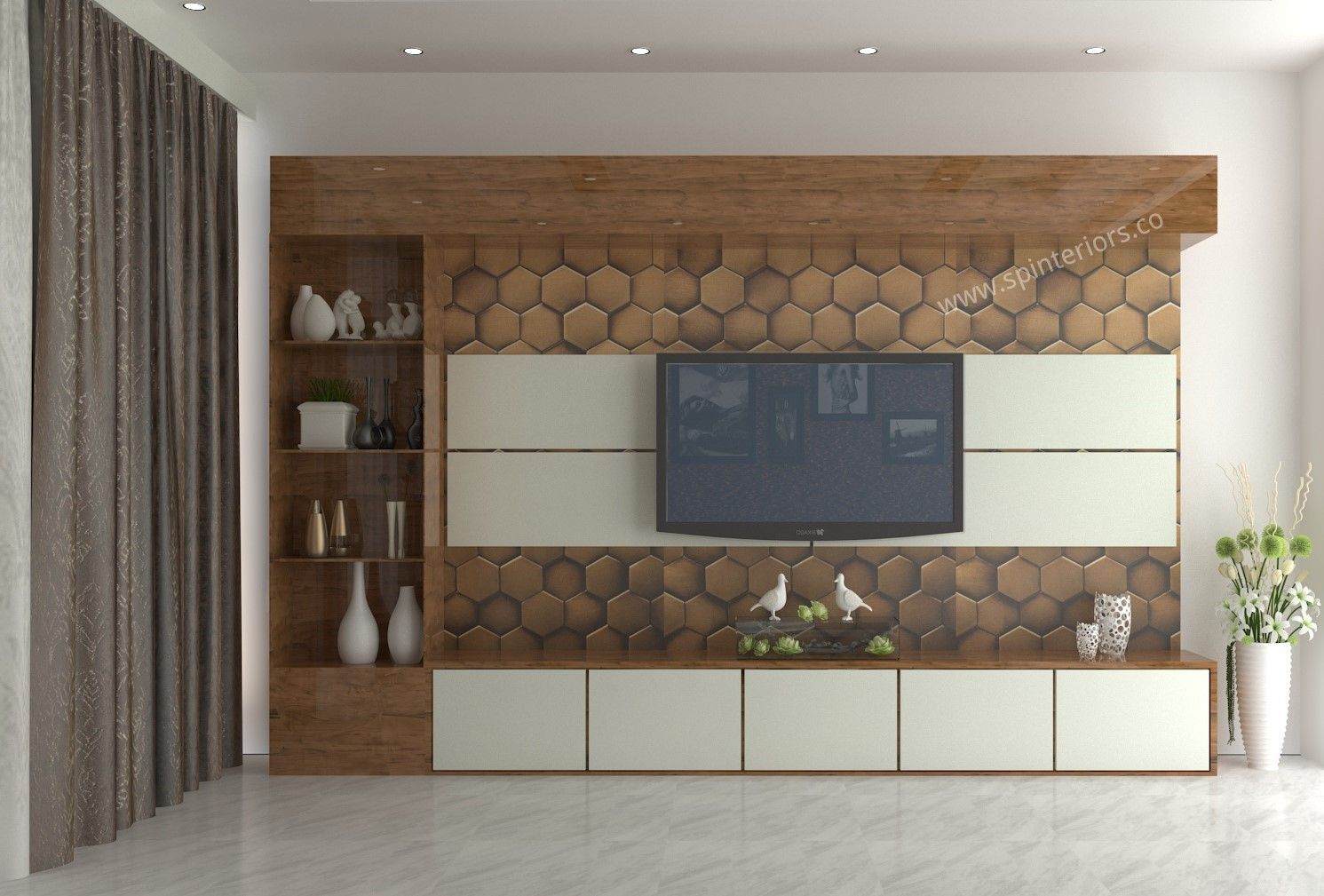 Amazing Tv Unit For Luxurious Living Room In 2020 Luxury Living Room Modern Tv Unit Designs Modern Tv Units