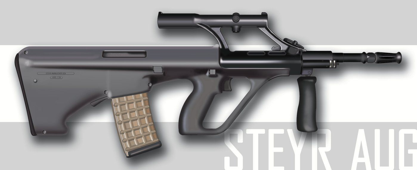 Steyr AUG A1 | Beautiful firearms that I own, have owned