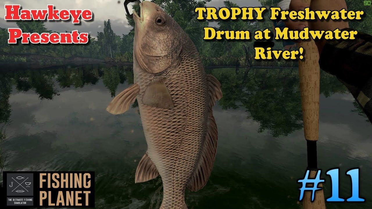 Fishing 11 S3 TROPHY Freshwater Drum at