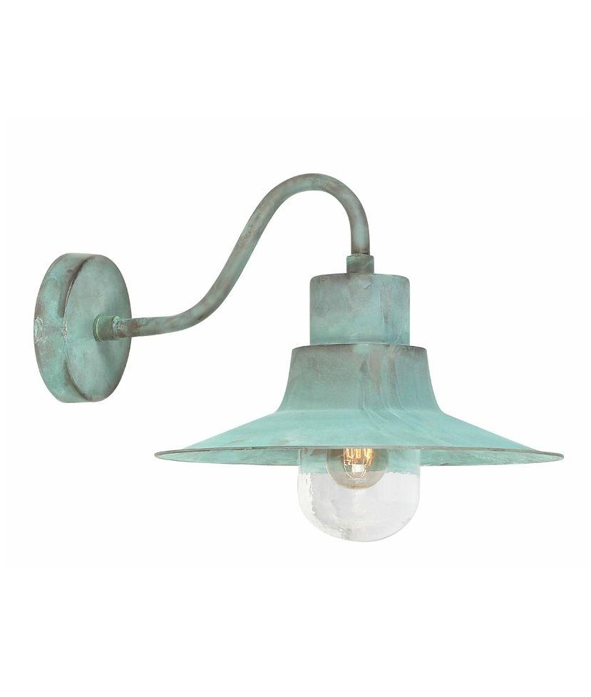 industrial style outdoor lighting. Verdigris Industrial Style Fisherman Wall Light Outdoor Lighting I