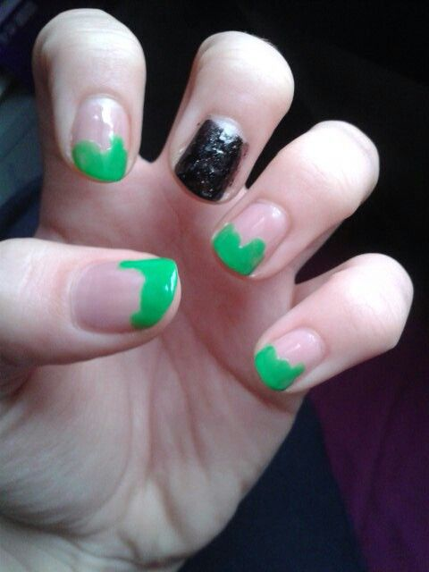 My attempt at Halloween nails