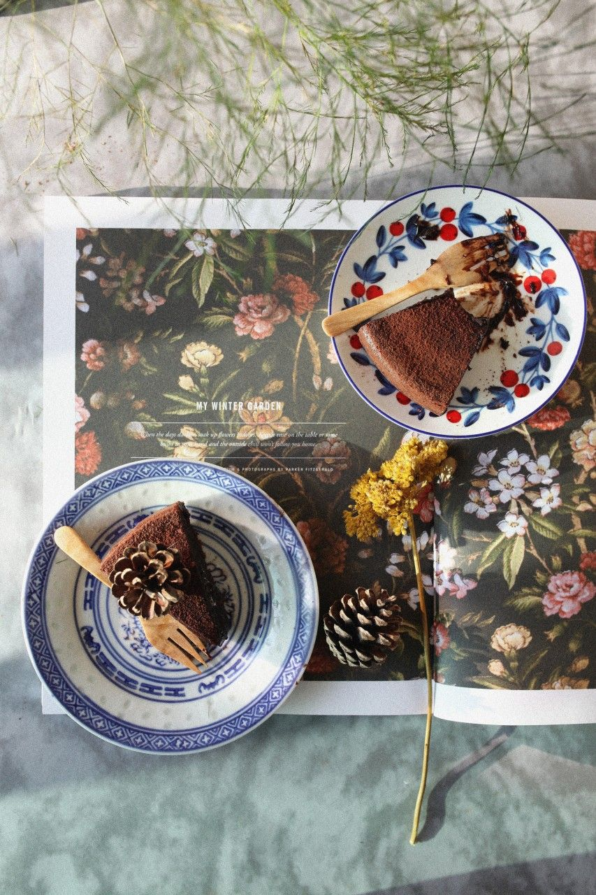 The 45 minutes to heaven flourless chocolate cake by Sam