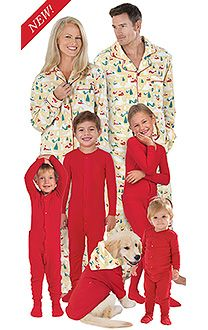 ebaae4a191 All Family Pajama Sets - PJs for the whole family