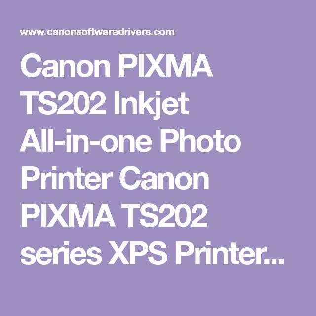 canon pixma ts202 download