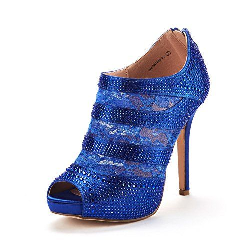 4f31623864d DREAM PAIRS Women s Valentine Fashion Dress High Heel Peep Toe Wedding  Pumps Shoes Price   28.99