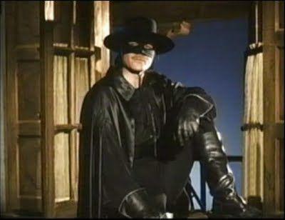 Guy Williams as Zorro.