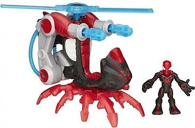 Playskool Heroes Marvel Super Hero Adventures Big Time Spider Man Blade Copter