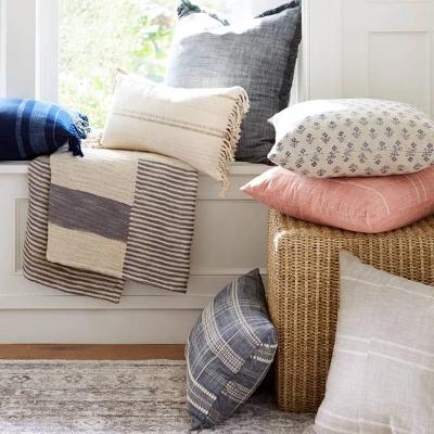 mix match throw pillow collection