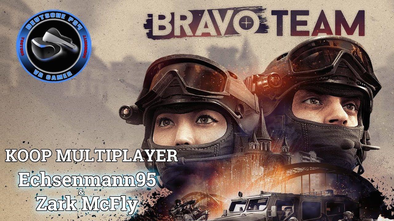 Bravo Team Koop Multiplayer Livestream PS4 VR Let's Play