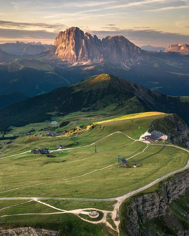Amazing Places To Go Europe: Mt. Seceda, Dolomites (Mountain Range), Northeastern Italy