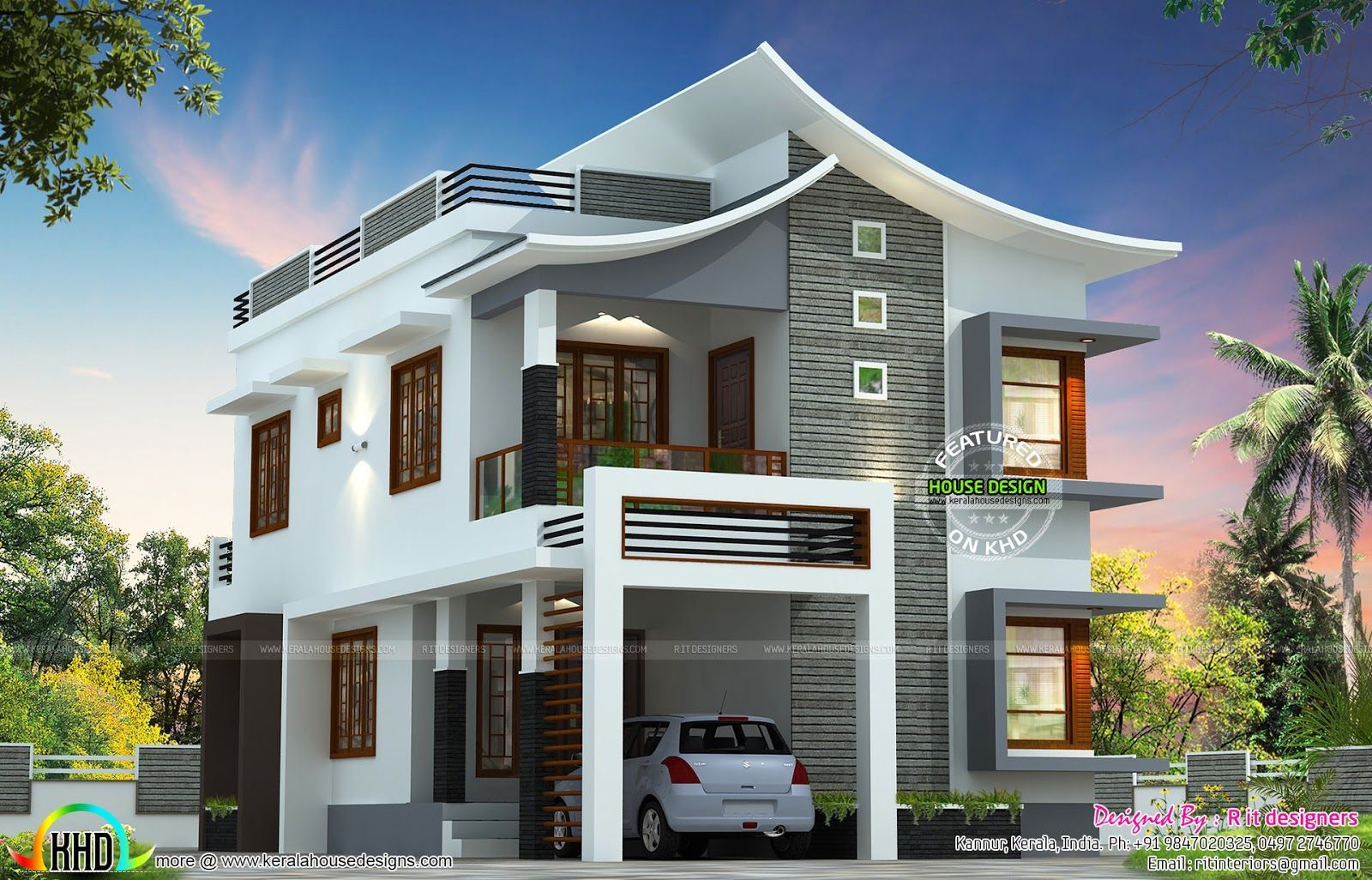 12 Unearthly Roofing Diy Ideas House Roof Design Kerala House Design Latest House Designs