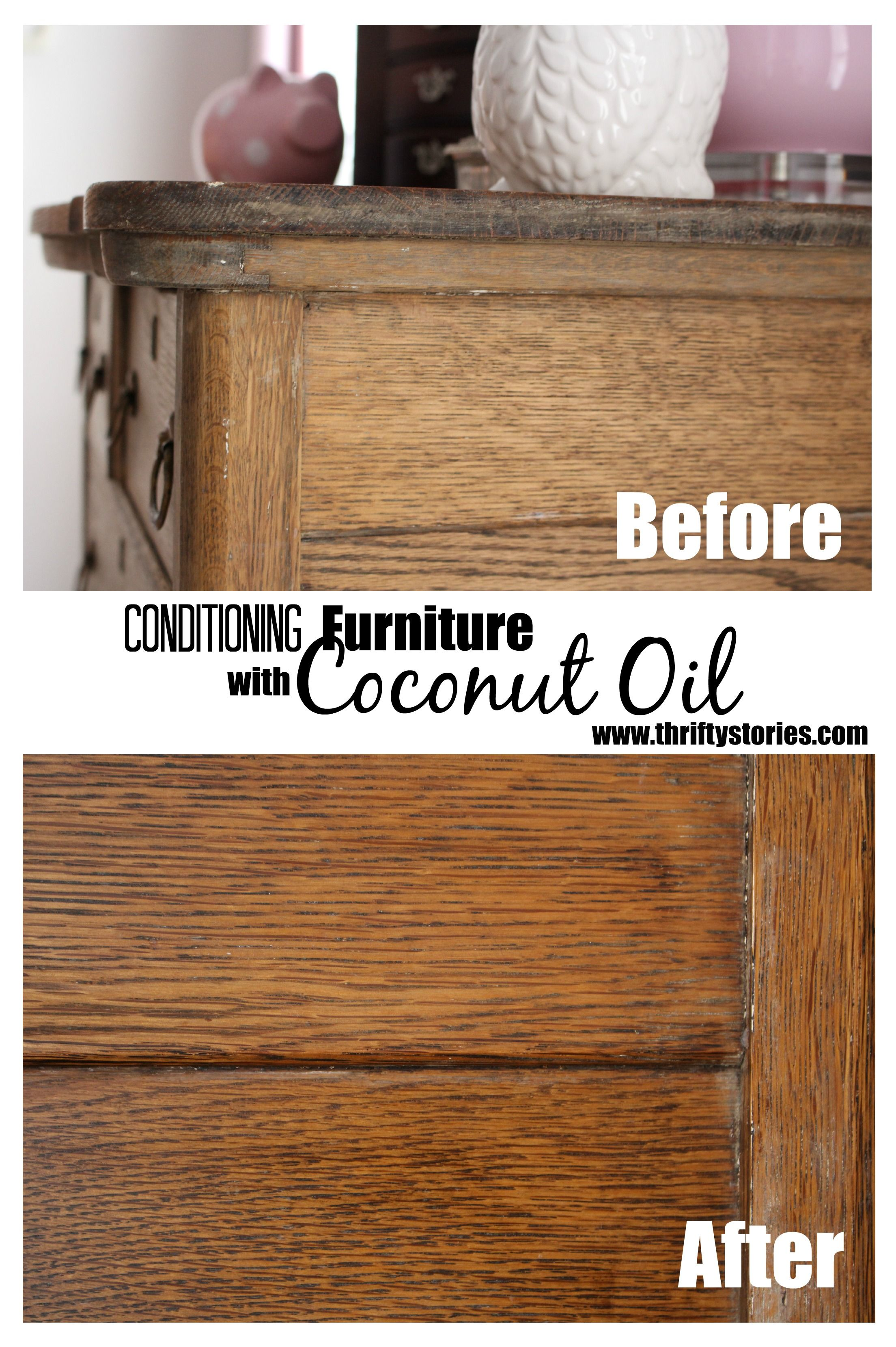 Conditioning Furniture With Coconut Oil Home Cleaning