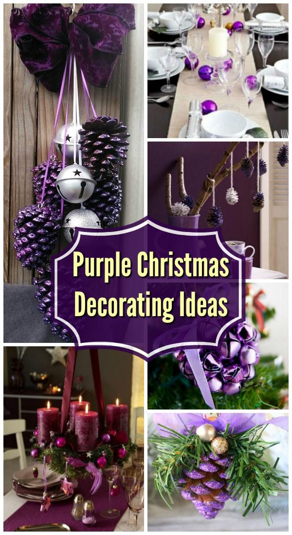 35 Breathtaking Purple Christmas Decorations Ideas – All About ...