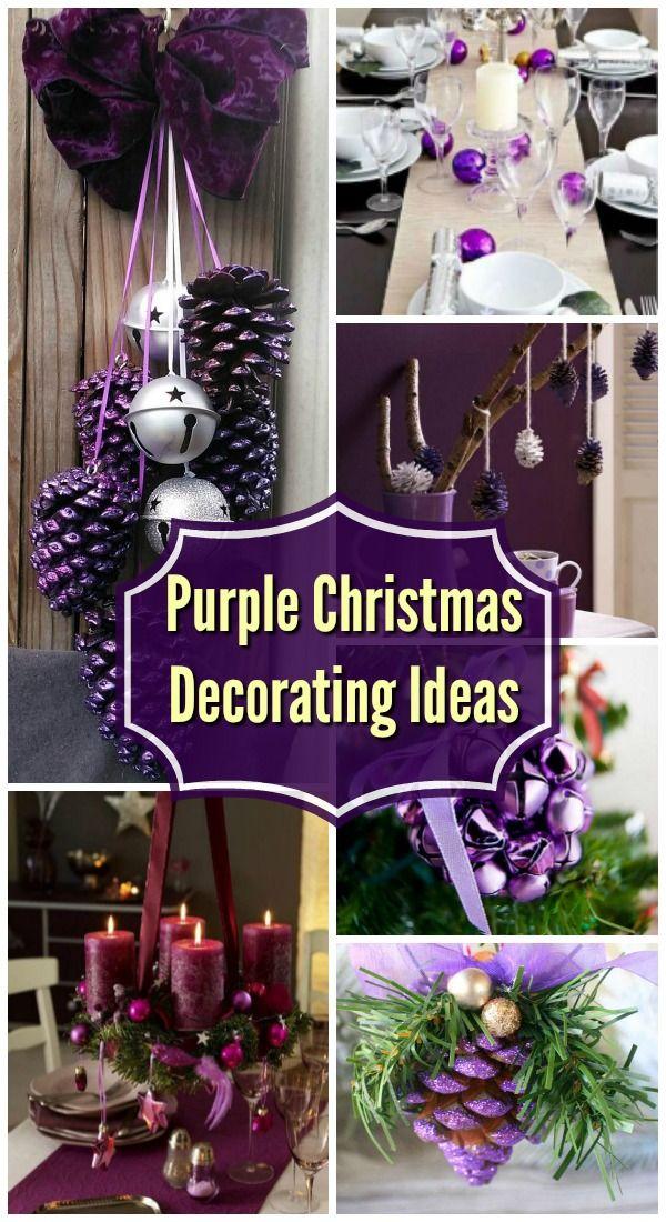 Breathtaking purple christmas decorations ideas all
