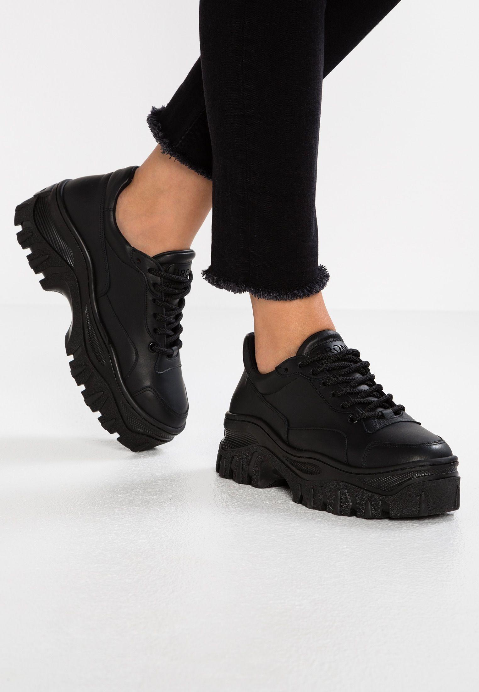 6ab7740dcc570 JAXSTAR - Joggesko - black @ Zalando.no 🛒 | Wishlist | Bronx shoes ...